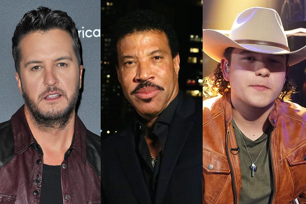 Các giám khảo của American Idol Show, Luke Bryan và Lionel Richie phản ứng trước video gây tranh cãi của Caleb Kennedy, Sudden Exit