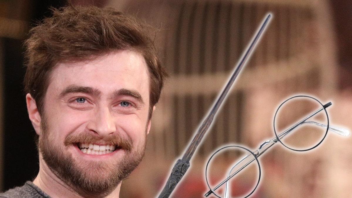 Đũa phép Harry Potter, kính từ sân đấu giá Bảo bối Tử thần.