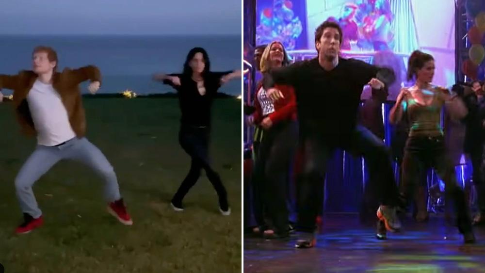 Courtney Cox, Ed Sheeran tái hiện lại thói quen khiêu vũ cổ điển của Friends – Deadline