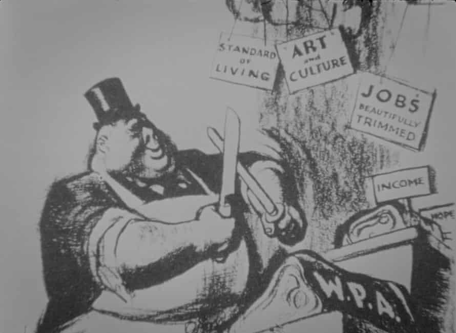 Hình ảnh tĩnh từ các nghệ sĩ New Deal