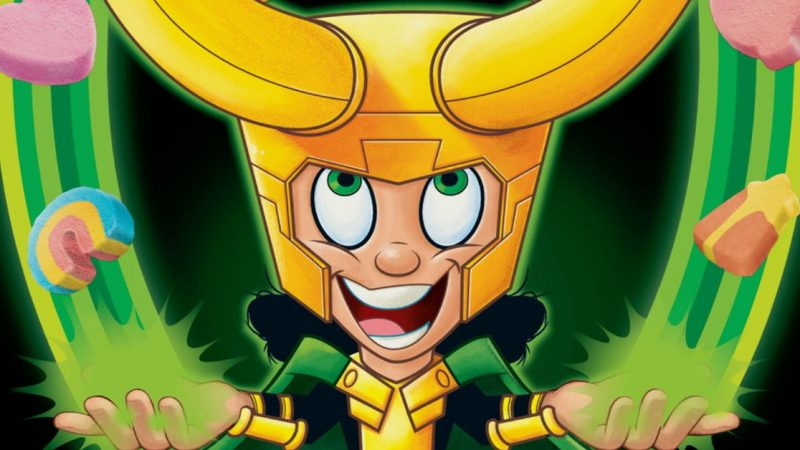 Loạt Loki mới của Disney Plus triệu tập một hạt: Loki Charms