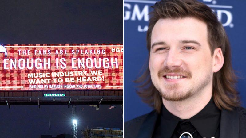 Các biển quảng cáo mới phản đối khả năng đủ điều kiện của Morgan Wallen Limited xuất hiện tại Giải thưởng CMT trên toàn Nashville
