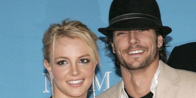 Năm 2004, Spears kết hôn với Kevin Federline.  Cặp tình nhân có hai con chung: Sean Preston và Jayden James.  (Ảnh của J. Merritt / FilmMagic)