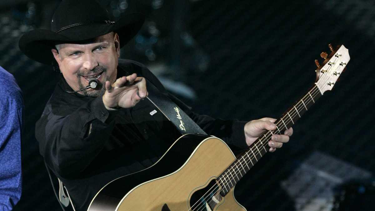 Garth Brooks công bố buổi hòa nhạc tại Sân vận động Arrowhead