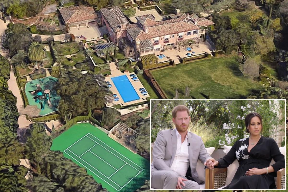 Hài cốt người 'rất già' được tìm thấy gần biệt thự của Harry và Meghan ở California