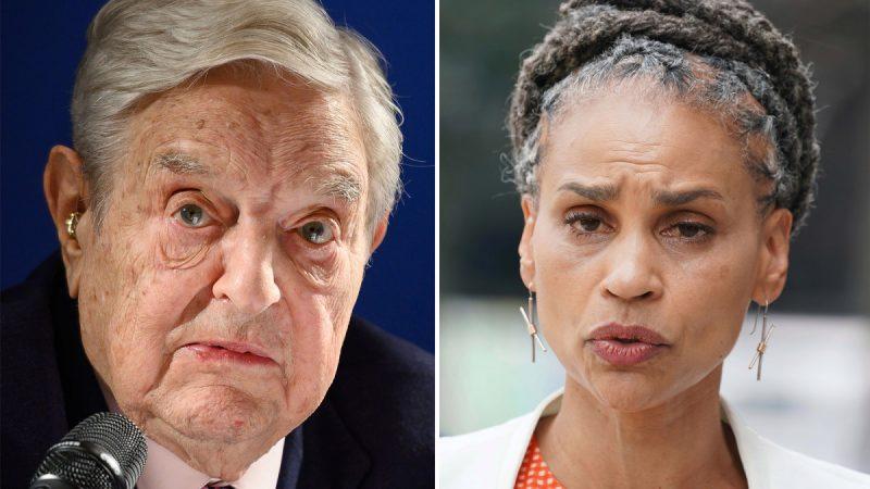 Maya Wiley chỉ trích tỷ phú mặc dù ủng hộ George Soros