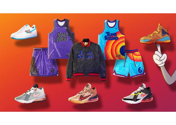 Ngày phát hành bộ sưu tập kế thừa chính thức mới của Nike và Converse Space Jam