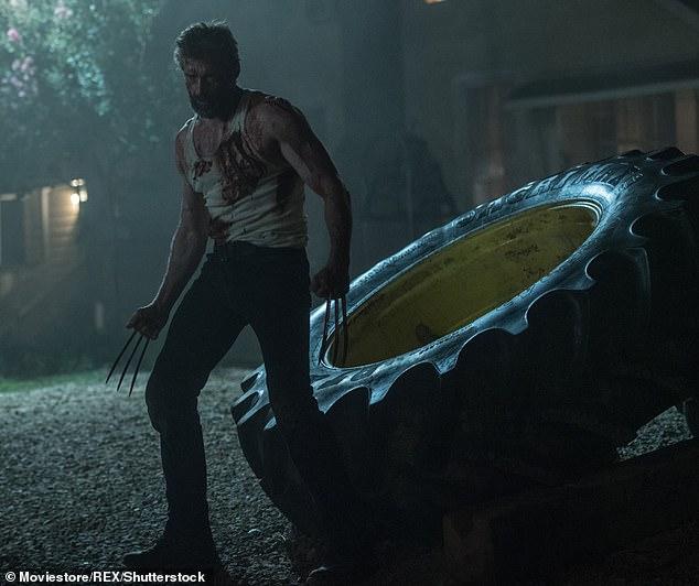 Mang tính biểu tượng: Lần cuối cùng Jackman mang ủng và móng vuốt của Wolverine trong bộ phim siêu anh hùng Logan (2017) cách đây 4 năm;  Được quay trong phim truyện