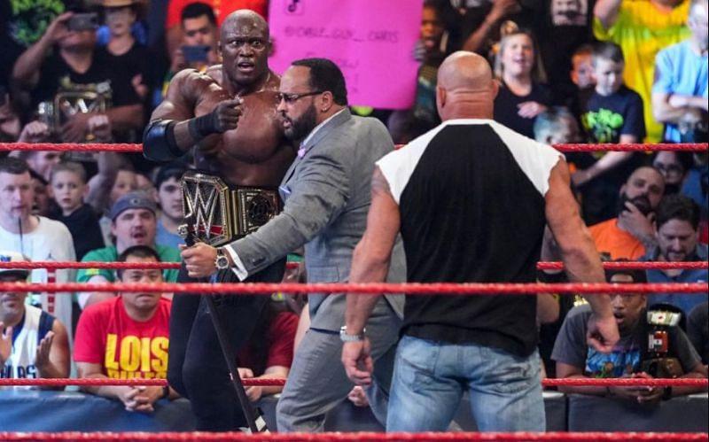 Bully Ray chỉ ra một lỗ hổng lớn trong cốt truyện của Goldberg-Bobby Lashley trong WWE RAW
