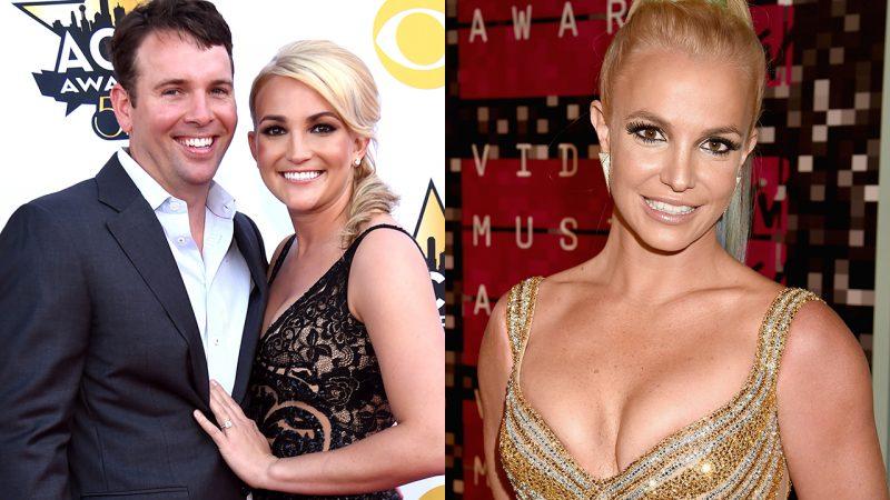 Có vẻ như chồng của Jamie Lynn Spears bị bắt gặp đang nhìn chị dâu Britney trên Instagram