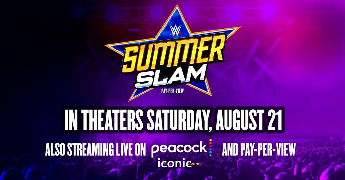 WWE sẽ phát sóng trực tiếp SummerSlam tại các rạp chiếu phim trên toàn quốc