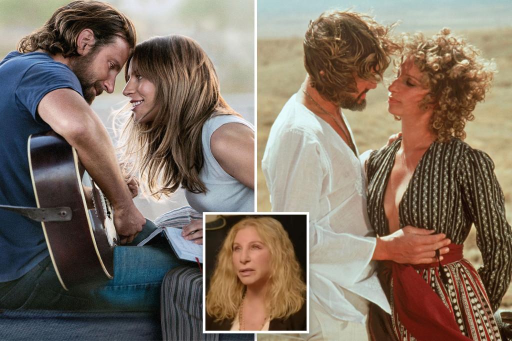 "Barbra Streisand bỏ bóng trong bộ phim ""A Star Is Born"" của Bradley Cooper"