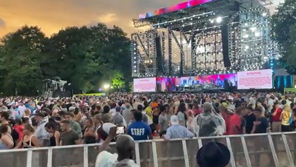 Bữa tiệc về nhà của Công viên Trung tâm bị cắt ngắn do thời tiết khi Henry đến gần – CBS New York