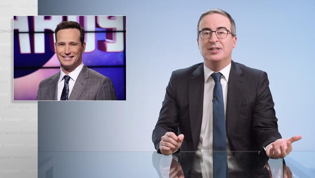John Oliver đã tách khỏi người dẫn chương trình Jeopardy mới Mike Richards – Hạn chót