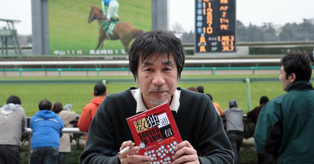 Maki Kaji, cha đỡ đầu của Sudoku, đã qua đời ở tuổi 69