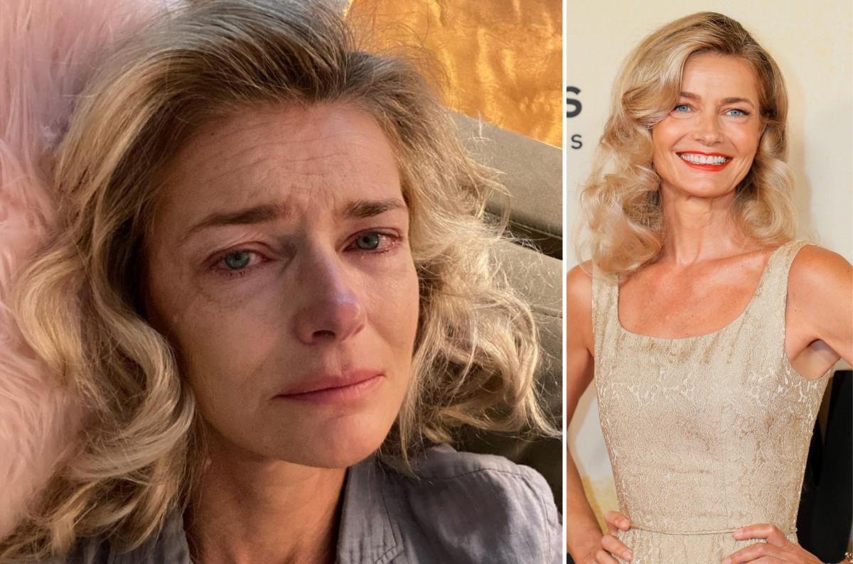 Polina Porizkova biết rằng bức chân dung đẫm nước mắt của cô là 'đỉnh cao của lòng tự ái'