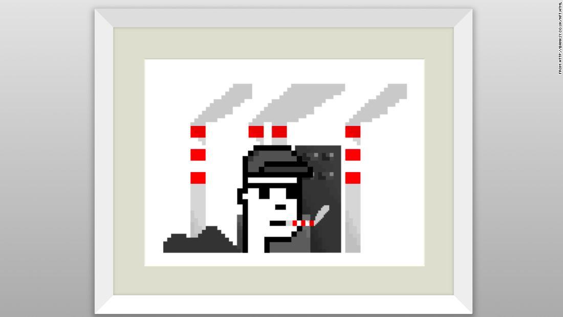 Người hâm mộ Banksy mua NFT 'giả' với giá hơn $ 335K sau khi bị cáo buộc hack trang web