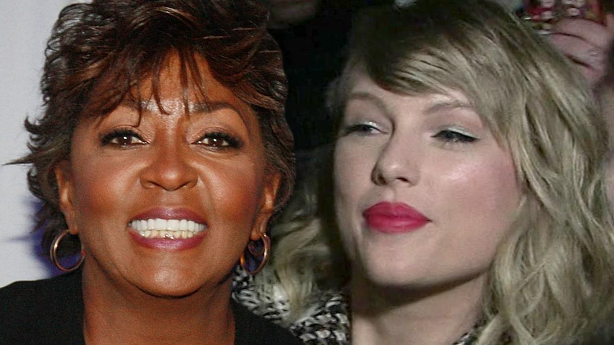 Taylor Swift hét vào mặt Anita Baker để lấy lại chủ nhân của cô ấy