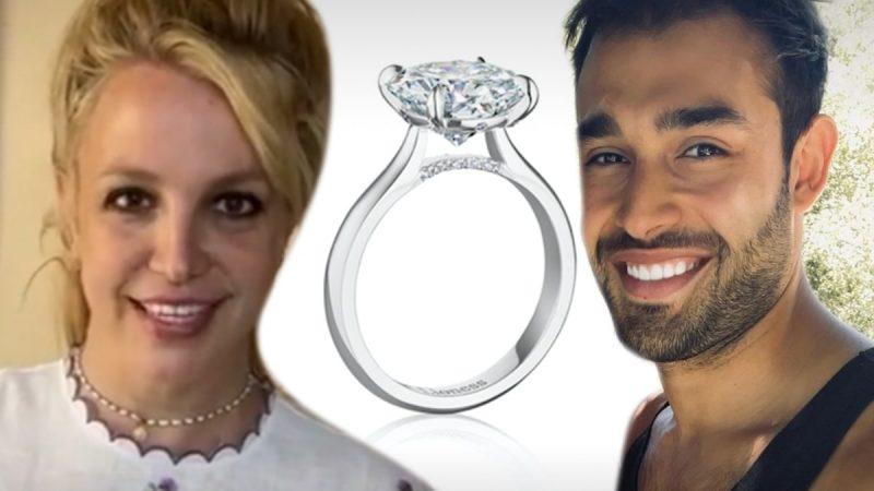 Nhẫn đính hôn của Britney Spears đang là hàng hot, ngày cưới không còn sớm