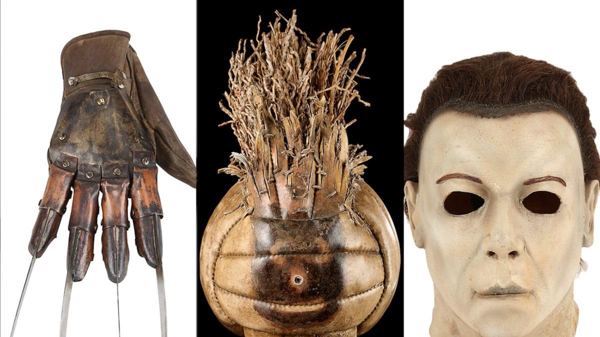 Găng tay Freddy Krueger, Michael Myers đeo mặt nạ để bán đấu giá