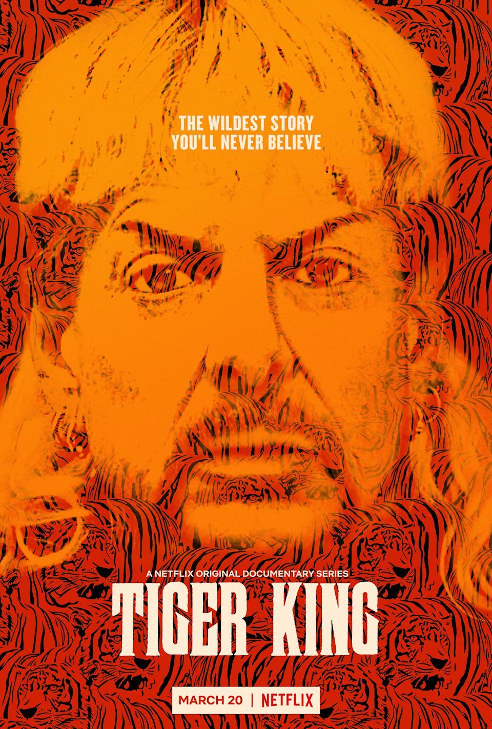 """""""vua hổ"""" Nó ra mắt vào tháng 3 năm 2020 (Ảnh: Netflix)"""