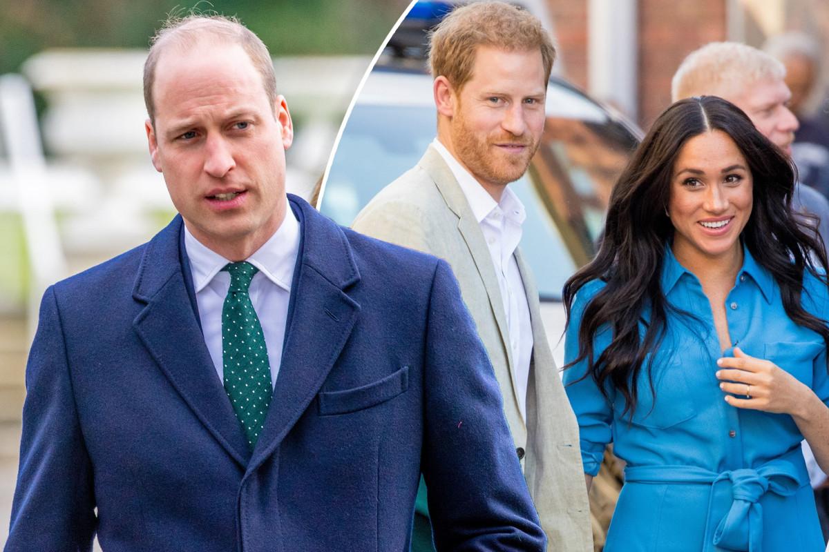 """William không """"hòa giải"""" với Harry, Meghan khoảng cách"""