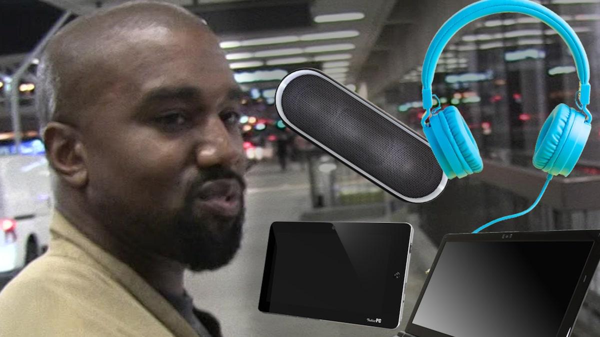 Kanye West tập tin Nhãn hiệu 'Donda' cho Dây chuyền công nghệ rõ ràng