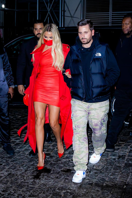 Khloe Kardashian theo học & # x00201c;  Trực tiếp Đêm Thứ Bảy & # x00201d;  Sau bữa tiệc với Scott Disick tại Zero Bond ở Thành phố New York.  - Tín dụng: TheHapaBlonde / SplashNews.com